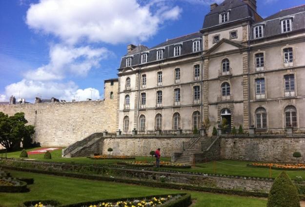 Château de l'Hermine à Vannes, Morbihan