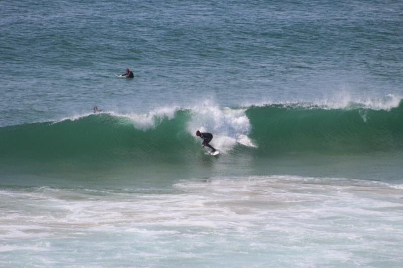 Surf à la plage de La Guérite, Morbihan