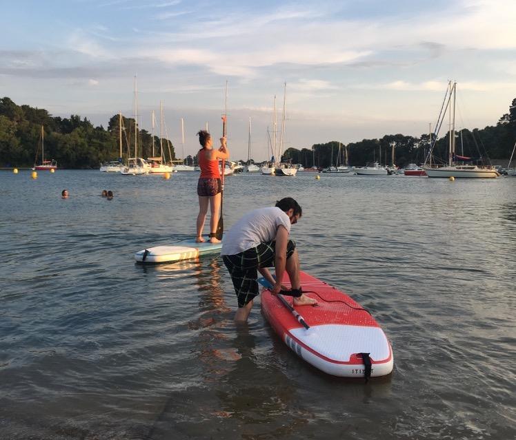 Paddle à Conleau