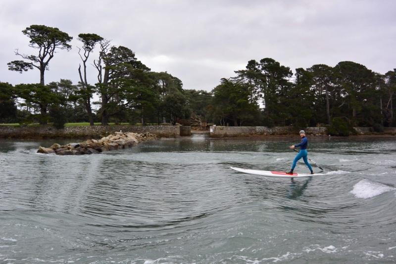 testez le paddle à Baden dans le Golfe du Morbihan