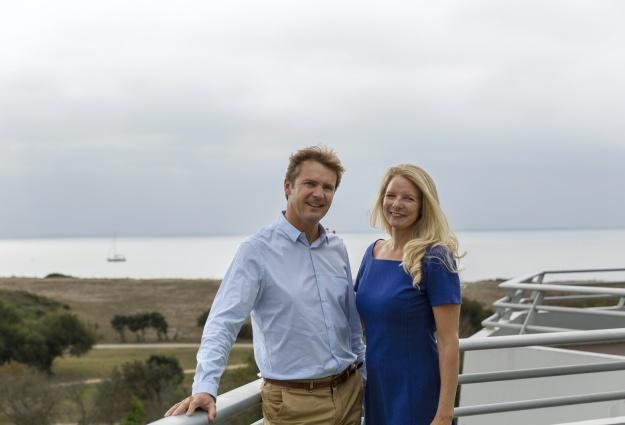 Maud et Patrice Caudale, fondateurs de Demeures Marines