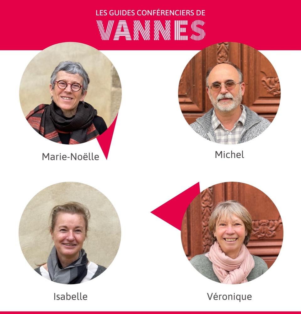 Visiter Vannes avec des guides conférenciers